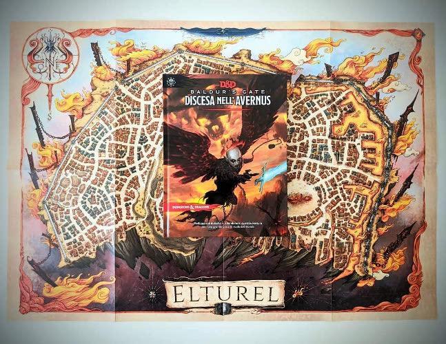 discesa in AVERNUS BALDUR/'S GATE D/&D 5th Edizione