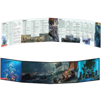 D&D 5th Edition - Of Ships & the Seas DM Screen