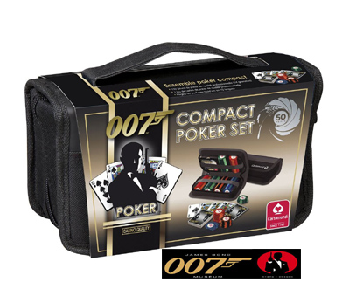 James Bond: Skyfall 007 - Luxury Compact Poker Set