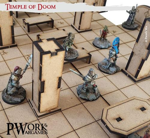 MDF Fantasy Tiles - Temple of Doom