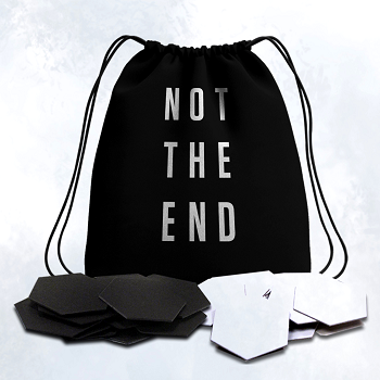 Not The End - Token Esagonali con Sacchetto