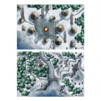 D&D 5th Edition - Icewind Dale - Set di Mappe
