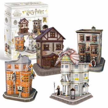 Puzzle Revell 3D Harry Potter - Diagon Halley