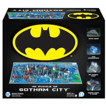 Puzzle 4D Cityscape - Mini Batman Gotham City