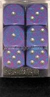 Set 12D6 Speckled - Tetra Argento