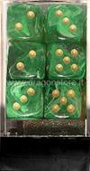 Set 12D6 Vortex - Verde/Oro