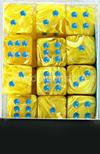 Set 36D6 Vortex - Giallo/Blu