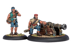 Mercenaries - Sea Dog Deck Gun Crew